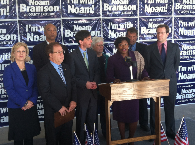 Sen. Stewart-Cousins, State Representatives Tout Bramson's Approach to Local Issues