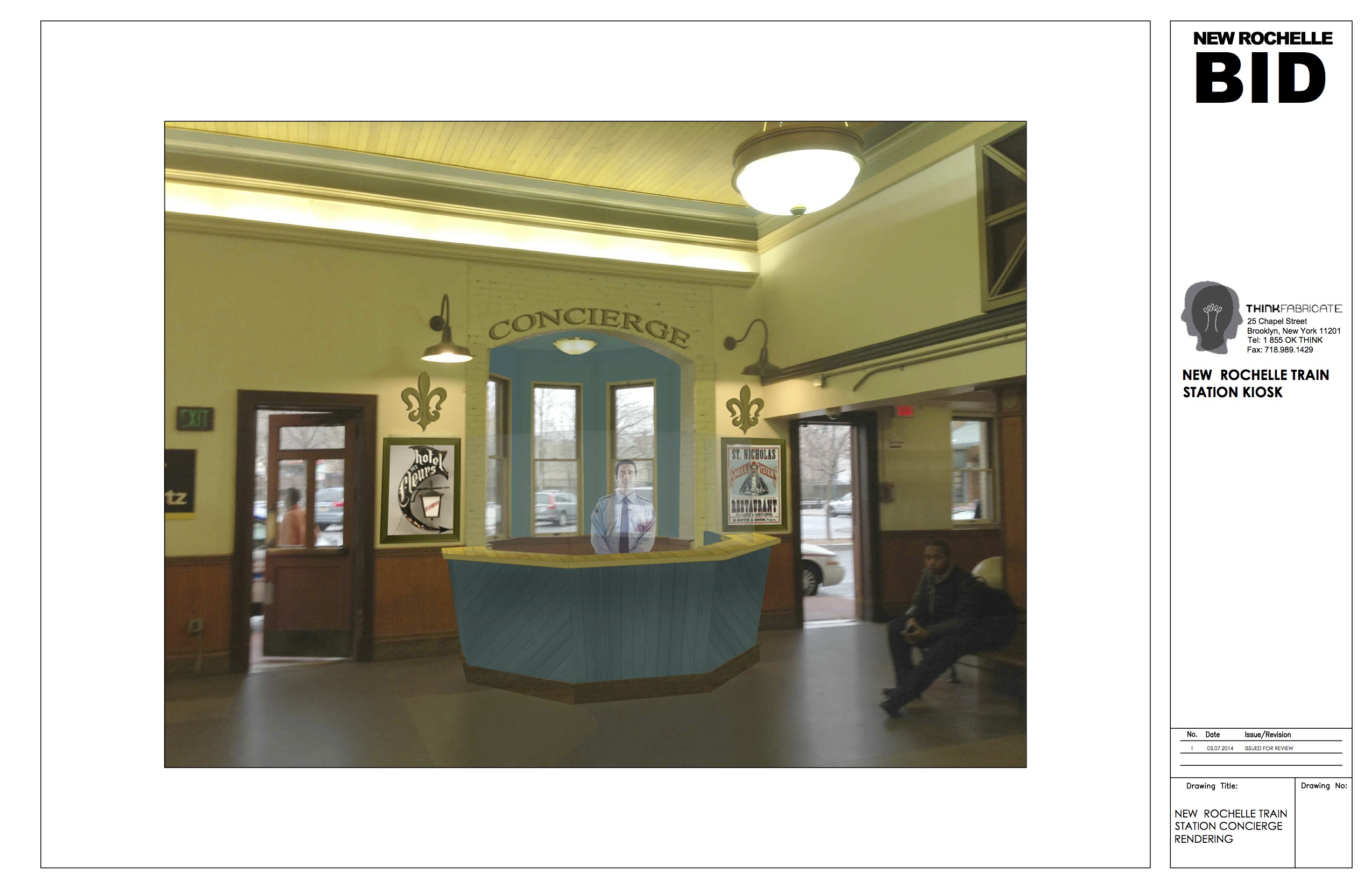 Concierge Desk Planned for Train Station