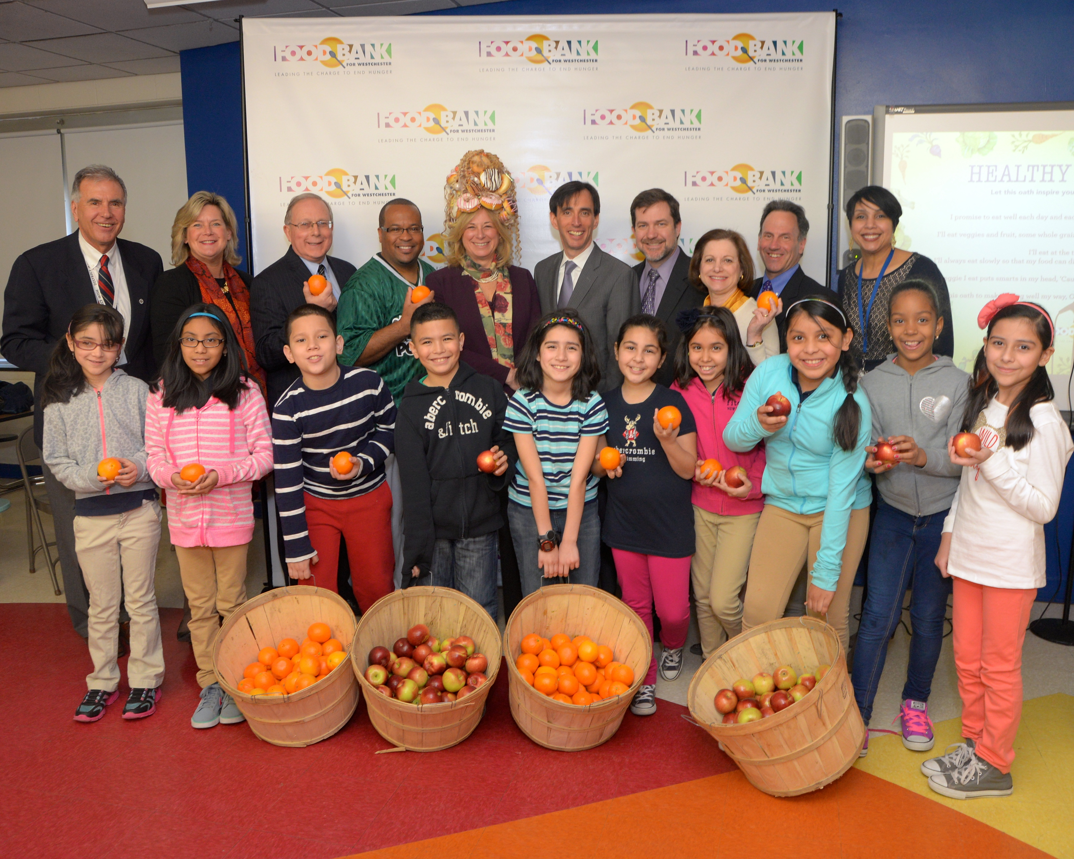 Healthy Eating at Columbus Elementary