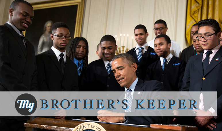 "New Ro Accepts ""My Brother's Keeper"" Challenge"