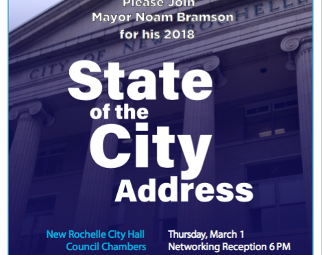 Reminder:  State of the City on March 1st