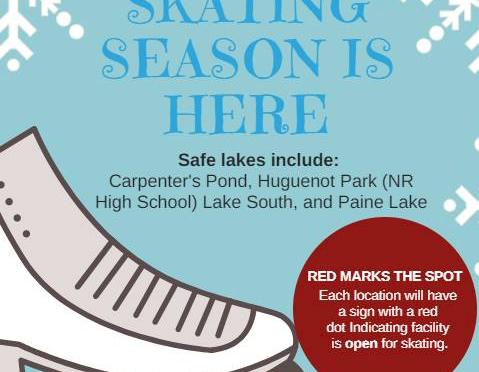 (Some) Lakes Open for Skating