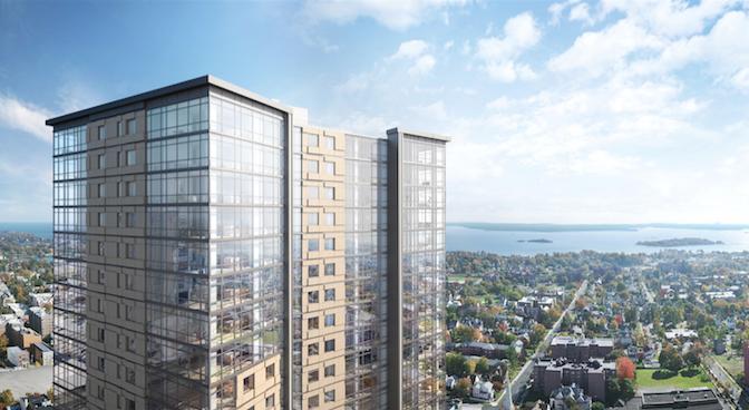 New Rochelle's Emerging Skyline