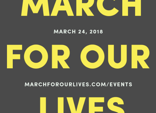 March for Our Lives on March 24th