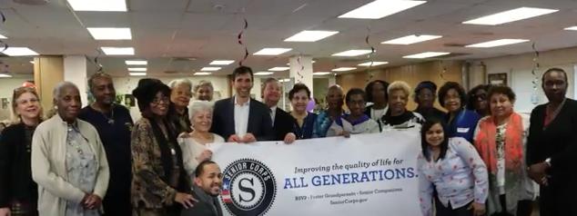Honoring Senior Volunteers