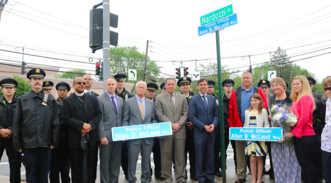 Honoring One of New Rochelle's Finest