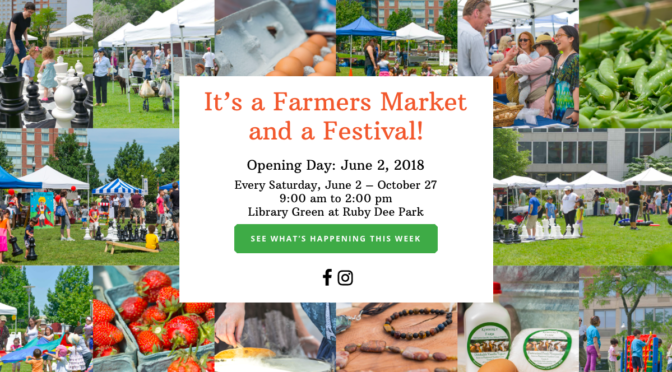 New Ro Farmers Markets Open for the Season