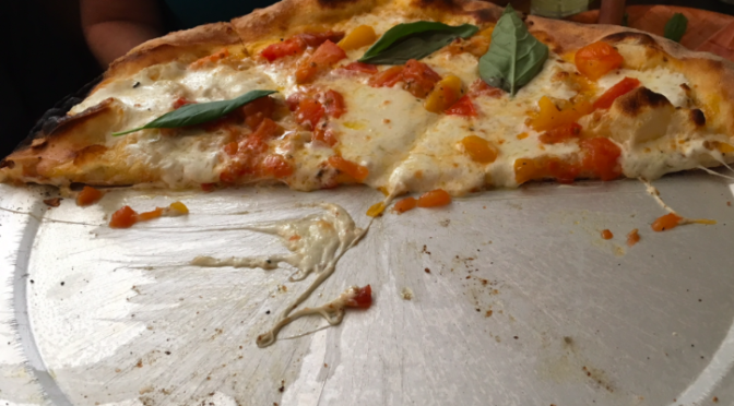 Food Blog:  Pizzeria La Rosa