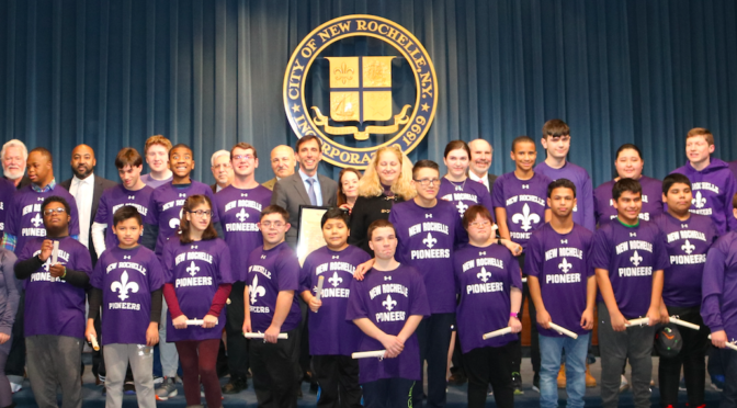 New Rochelle's Special Olympians