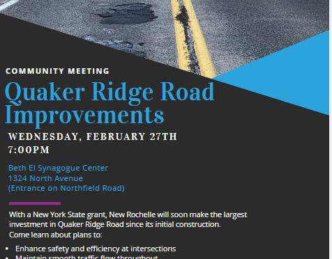 Quaker Ridge Road Meeting on 2-27