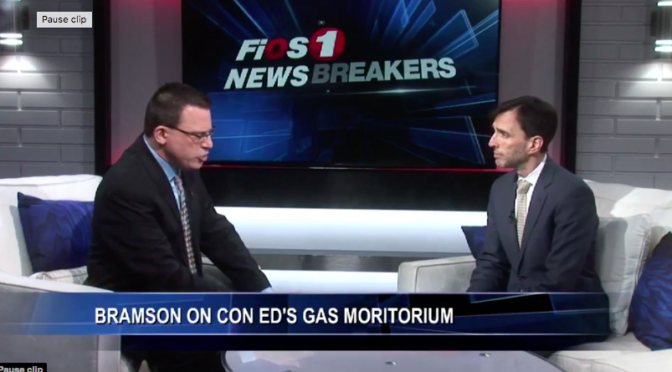Newsbreakers Interview on Gas Moratorium
