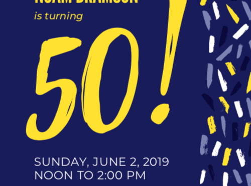 I'm Turning 50 – Please Celebrate With Me