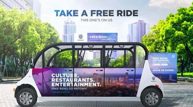 Free Downtown Shuttle Launches