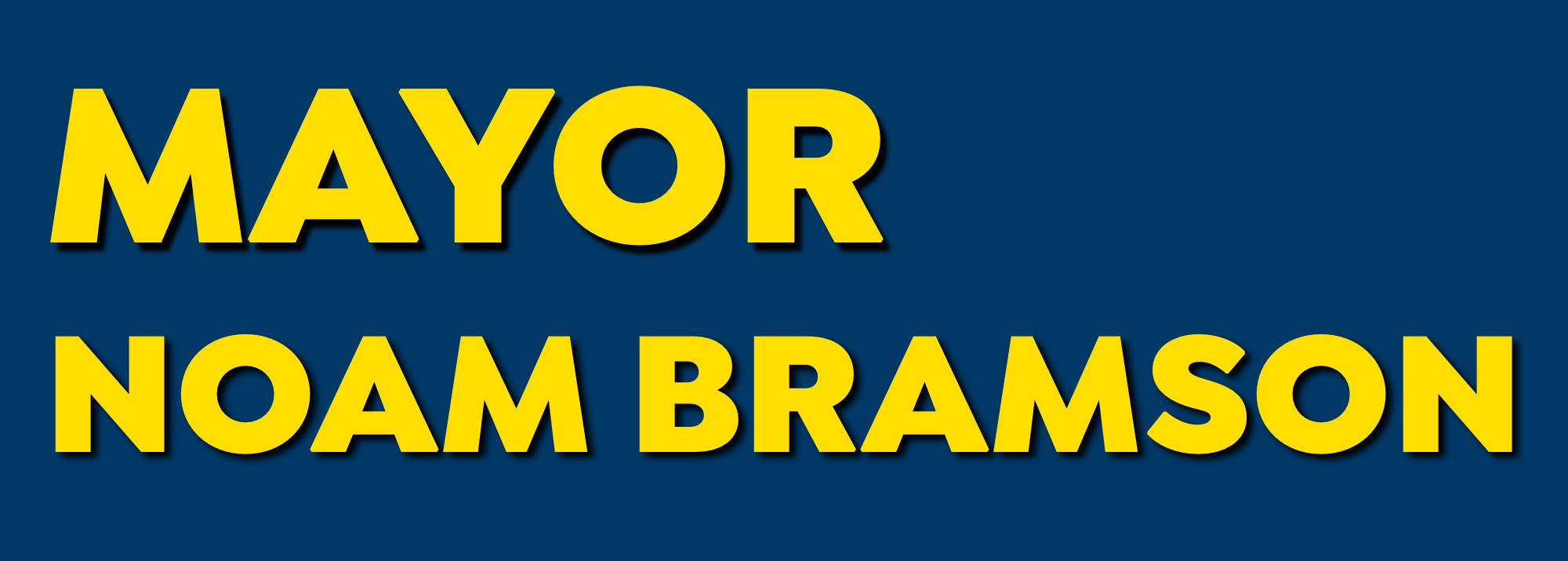 Mayor Noam Bramson