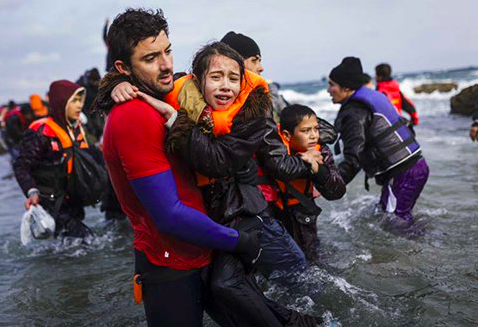 Civilized Nations Accept Refugees